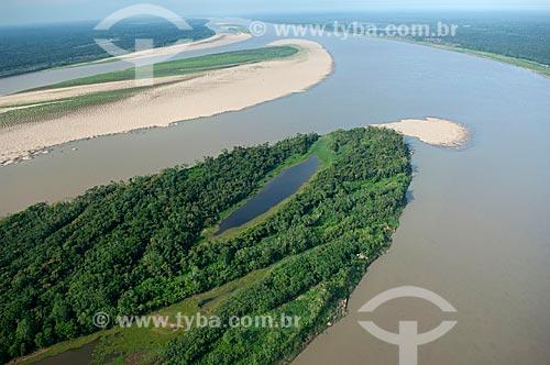 Assunto: Rio Madeira com praias, na época da seca  / Local:  Município de Borba - Amazonas (AM) - Brasil  / Data: 11/2007