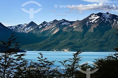 Assunto: Vista do Lago Argentino  / Local:  El Calafate - Patagônia - Argentina  / Data: 02/2010