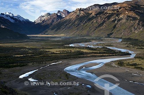Assunto: Vista do Parque Nacional Los Glaciares  / Local:  El Chalten - Patagônia - Argentina  / Data: 02/2010