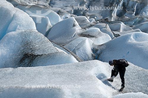 Assunto: Vista do Glaciar Viedma no Parque Nacional Los Glaciares El Chalten - Província de Santa Cruz / Local: El Chalten - Província de Santa Cruz - Argentina - América do Sul / Data: 02/2010