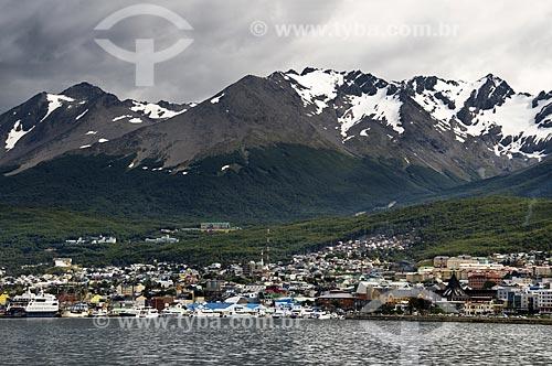 Assunto: Vista da cidade de Ushuaia  / Local:  Patagônia -  Argentina  / Data: 02/2010