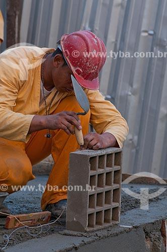 Assunto: Obras de urbanização realizadas pelo Programa de Aceleração de Crescimento - PAC - em Cantagalo  / Local:  Rio de Janeiro - RJ - Brasil  / Data: 06/2010
