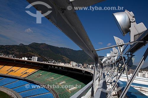Assunto: Refletores do Estádio Jornalista Mário Filho - Maracanã  / Local:  Rio de Janeiro - RJ - Brazil  / Data: 06/2010
