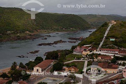 Assunto: Cidade de Piranhas a margem do rio São Francisco  / Local:  Piranhas - Alto Sertão de Sergipe (SE) - Brasil  / Data: 07/2010