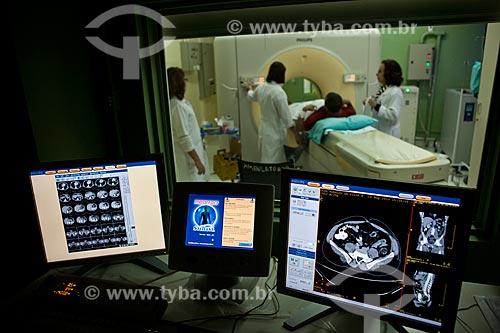 Assunto: Hospital da Lagoa, serviço de ressonância magnética  / Local:  Lagoa - Rio de Janeiro (RJ)  / Data: 08/2010