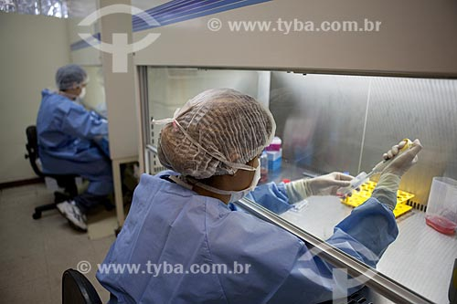 Assunto: Instituto Nacional de Traumatologia e Ortopedia (INTO) - Laboratório de Terapia Celular  / Local:  R. Washington Luis 61 - Centro - Rio de Janeiro - RJ - Brasil  / Data: 23/08/2010