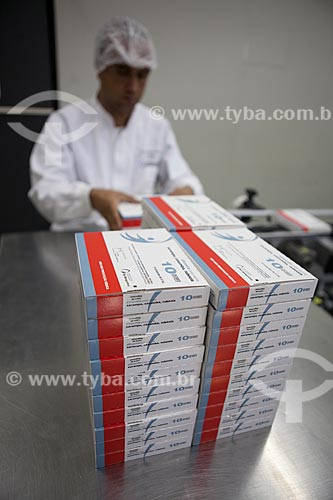 Assunto: Produção de vacinas, tríplice viral (contra sarampo, caxumba) e rubéola no campus de Biotecnologia na Biomanguinhos - Fiocruz - Fundação Oswaldo Cruz  / Local:  Manguinhos - Rio de Janeiro - RJ  / Data: 09-2010