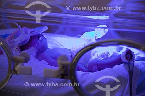 Assunto: Hospital de Bonsucesso, UTI neonatal - Incubadora   / Local:  Bonsucesso - Rio de Janeiro - RJ  / Data: 08/2010