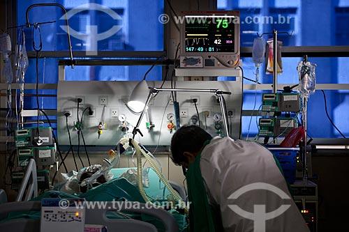 Assunto: Hospital de Bonsucesso, unidade de pós-operatório cardíaco  / Local:  Bonsucesso - Rio de Janeiro - RJ  / Data: 08/2010