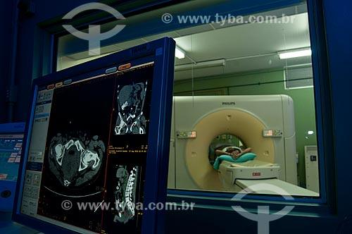 Assunto: Hospital da Lagoa, serviço de ressonância magnética  / Local:  Lagoa - Rio de Janeiro - RJ - Brasil  / Data: 08/2010