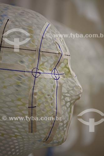 Assunto: Máscaras de radioterapia no INCA - Instituto Nacional do Câncer  / Local:  Praça da Cruz Vermelha - Centro - Rio de Janeiro - RJ  / Data: 09-2010