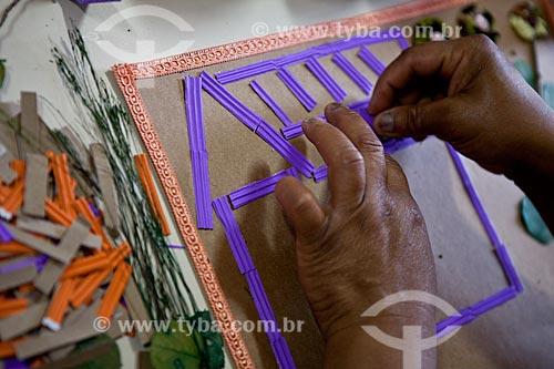 Assunto: Trabalhos manuais produzidos por pacientes do INCA IV - Instituto Nacional do Câncer  / Local:  Vila Isabel - Rio de Janeiro - RJ  / Data: 09-2010