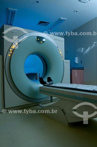 Assunto: Tomógrafo, sala de tomografia do INCA III - Instituto Nacional do Câncer  / Local:  Vila Isabel, RJ  / Data: 09-2010