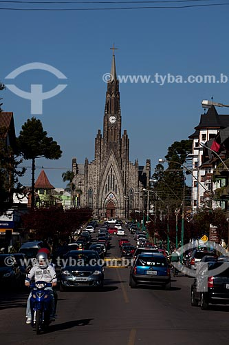 Assunto: Catedral Nossa Senhora de Lourdes, mais conhecida como Catedral de Pedra  / Local:  Canela - Rio Grande do Sul  / Data: 09/2010