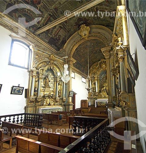 Assunto: Interior da Igreja de Nossa Senhora do Carmo (1760  / Local:  1765) durante o fim de sua última restauração  / Data: 12/2009