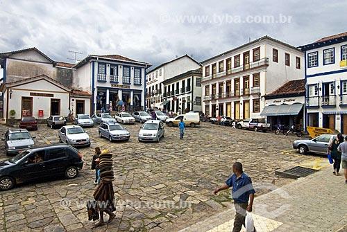 Assunto: Vista da Praça Joubert Guerra  / Local:  Diamantina - Minas Gerais - MG - Brazil   / Data: 12/2009