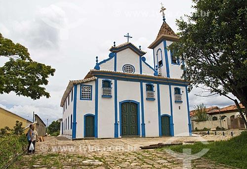 Assunto: Fachada da Igreja de Nossa Senhora do Rosário  / Local:  Diamantina - Minas Gerais - MG  / Data: 12/2009