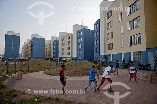 Assunto:  Praça (área de lazer) no condominio José Maria da Silva  / Local:  Nova Jaguaré - São Paulo - SP  / Data: 06/10/2010