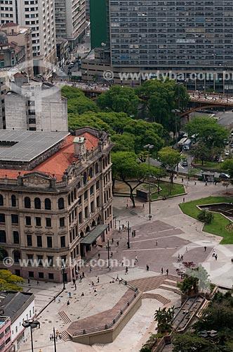 Assunto: Antigo prédio dos Correios no Vale do Anhangabaú  / Local:  São Paulo - SP  / Data: 07/10/2010