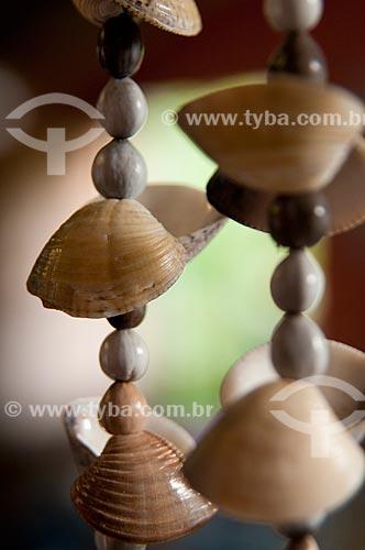 Assunto: Artesanato de conchas do Centro Educacional de Artesanato