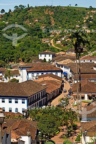 Assunto: Serro, cidade histórica com muitas construções do século XVIII  / Local:  Serro - Minas Gerais - MG  / Data: 12/ 2009