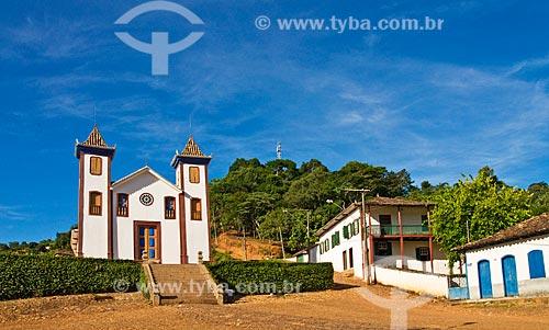 Assunto: Igreja do Senhor Bom Jesus de Matozinhos (1781)  / Local:  Serro - Minas Gerais - MG  / Data: 12/ 2009