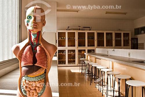 Assunto: Laboratório de Ciências do Colégio São Bento / Local: Criciúma - Santa Catarina (SC) - Brasil / Data: 14/05/2010