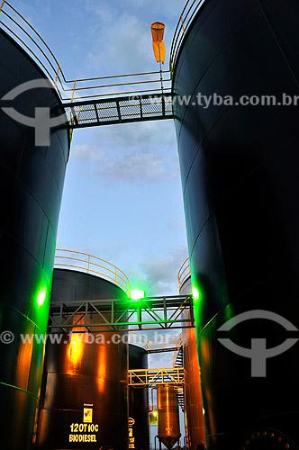 Assunto: Tanques para armazenamento de biodiesel  / Local:  Place: Lins - São Paulo - SP  / Data: 12/2008