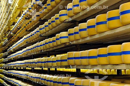 Assunto: Fábrica de laticínios - Queijo parmesão  / Local:  São Gonçalo do Sapucaí - Minas Gerais - MG  / Data: 12/2008