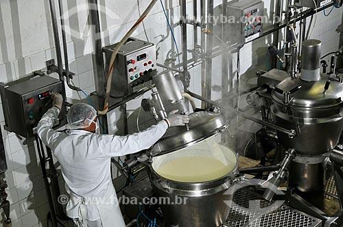 Assunto: Fábrica de laticínios - requeijão  / Local:  São Gonçalo do Sapucaí - Minas Gerais - MG  / Data: 12/2008