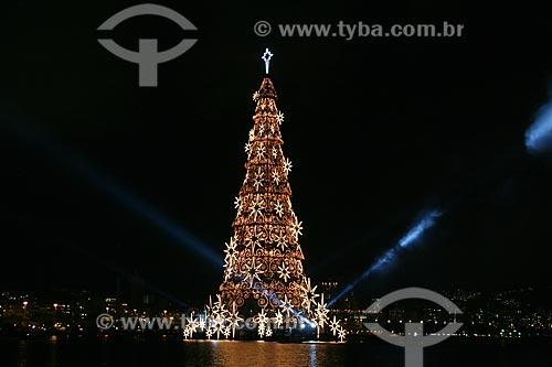 Assunto: Inauguração da árvore de natal da Lagoa Rodrigo de Freitas  / Local:  Rio de Janeiro - RJ - Brasil  / Data: 12/2010