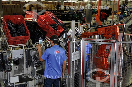 Assunto: Fábrica de calçados para seguranças  / Local:  Lins - São Paulo - SP  / Data: 01/2009