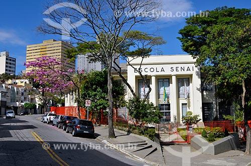 Assunto: Escola do Senai no bairro do Cambuçi esquina da rua Muniz de Souza com Francisco J. de Azevedo  / Local:  São Paulo - SP  / Data: 07/2009