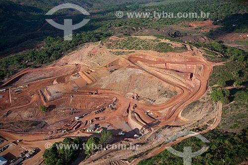 Assunto: Obras da empresa canedense Colossus para extração de ouro de Serra Pelada  / Local:  Serra Pelada - Pará  - Brasil  / Data: 10/2010