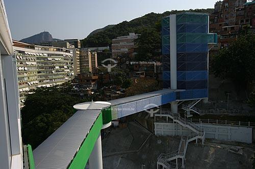 Complexo Rubem Braga - Elevador de acesso às comunidades Morro Cantagalo e Pavão-Pavãozinho  - Rio de Janeiro - Rio de Janeiro - Brasil