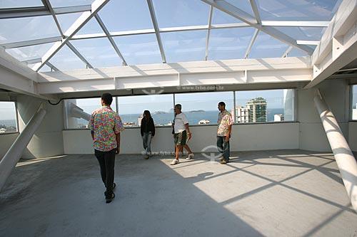 Interior do Complexo Rubem Braga - Elevador de acesso às comunidades Morro Cantagalo e Pavão-Pavãozinho  - Rio de Janeiro - Rio de Janeiro - Brasil