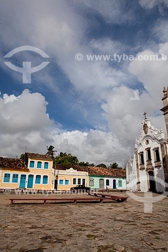 Assunto: Casario e parte do conjunto Arquitetônico Conventual Franciscano de Santa Maria Madalena em Marechal Deodoro, Patrimônio Nacional, fundada em 1611, primeira capital de Alagoas  / Local:  Alagoas - AL   / Data: 2011