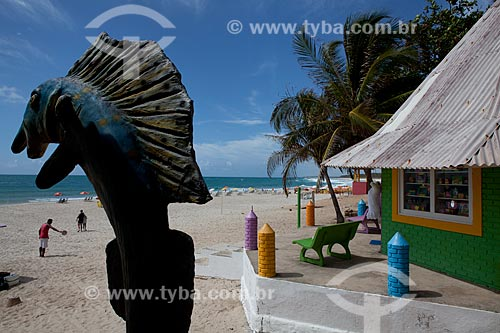Assunto: Praia do Francês  / Local:   litoral sul de Maceió - Alagoas - AL  / Data: 2011