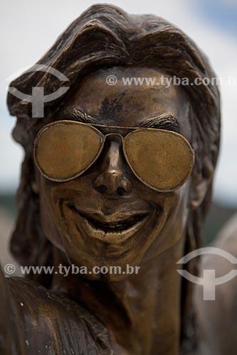 Assunto: Espaço Michael Jackson, laje na favela Santa Marta onde foi gravado um clipe do cantor, hoje o espaço é dedicado à recreação dos moradores da favela  / Local:  Rio de Janeiro - RJ - Brasil  / Data: 2011