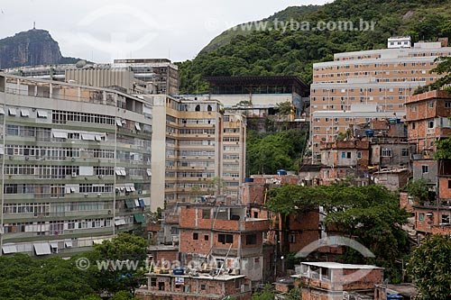 Assunto: Favela do Pavão-pavãozinho  / Local:  Copacabana - Rio de Janeiro - RJ - Brasil  / Data: 2011