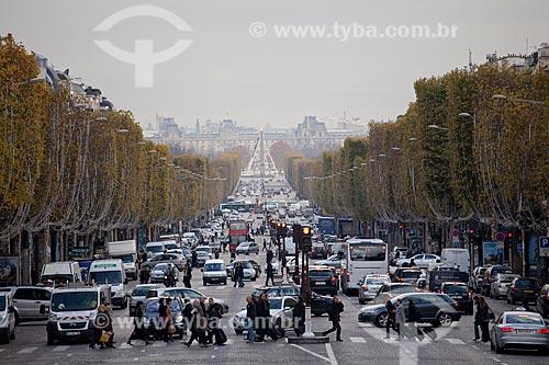 Assunto: Champs-elysées  / Local:  Paris - França  / Data: 11/2010