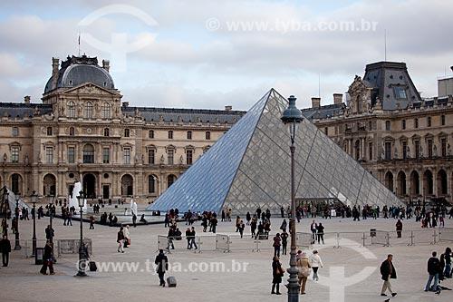 Assunto: Museu do Louvre  / Local:  Paris - França  / Data: 11/2010