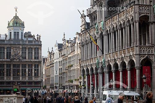 Assunto: Grand Place em Bruxelas  / Local:  Bruxelas - Bélgica  / Data: 11/2010