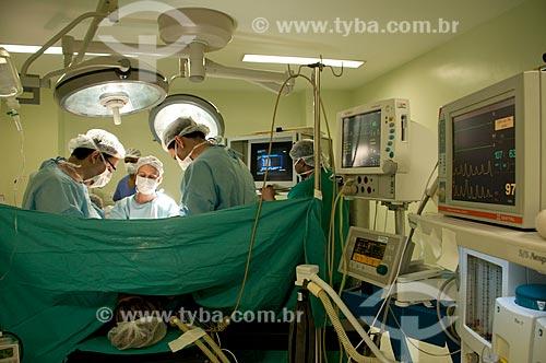 Assunto: Hospital Federal de Ipanema - centro cirúrgico - Ginecologia - procedimento de videolaparoscopia diagnóstica.  / Local: Hospital Federal de Ipanema - Rio de Janeiro - RJ / Data: 10/2010