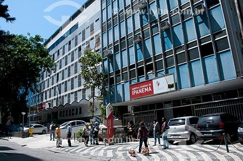 Assunto: Fachada do Hospital Federal de Ipanema  / Local:  Ipanema - Rio de Janeiro - RJ  / Data: 10/2010