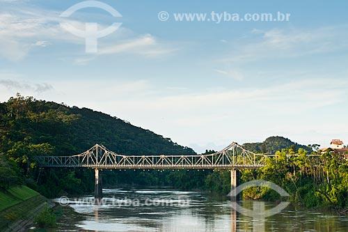 Assunto: Ponte Aldo Pereira de Andrade (Ponte de Ferro) / Local: Blumenau - Santa Catarina (SC) - Brasil / Data: 26/12/2010