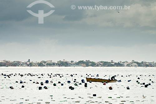 Assunto: Maricultura na Praia do Cardoso / Local: Bombinhas - Santa Catarina (SC) - Brasil / Data: 11/01/2011