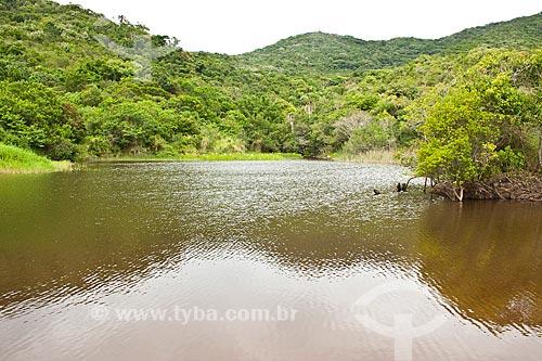 Assunto: Lagoa na Praia da Lagoa / Local: Bombinhas - Santa Catarina (SC) - Brasil / Data: 11/01/2011