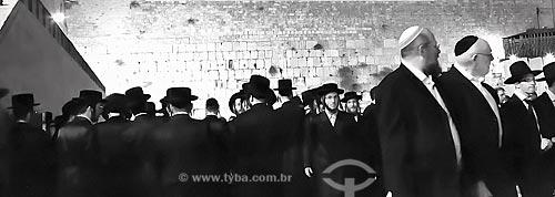 Assunto: Judeus em Jerusalém  / Local:  Israel - Oriente Médio  / Data: 11/2010