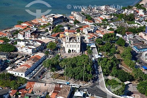 Assunto: Aérea da Igreja do Nosso Senhor do Bomfim  / Local:  Bahia - BA  / Data: 1/2011